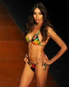 Brazilian tranvestite model Lea T presen